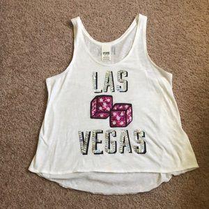 VS Pink Las Vegas Tank